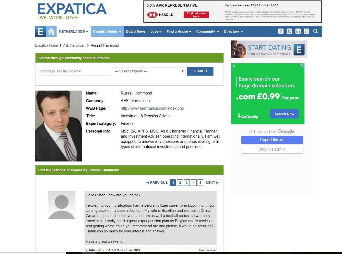 Expatica dating the dutch